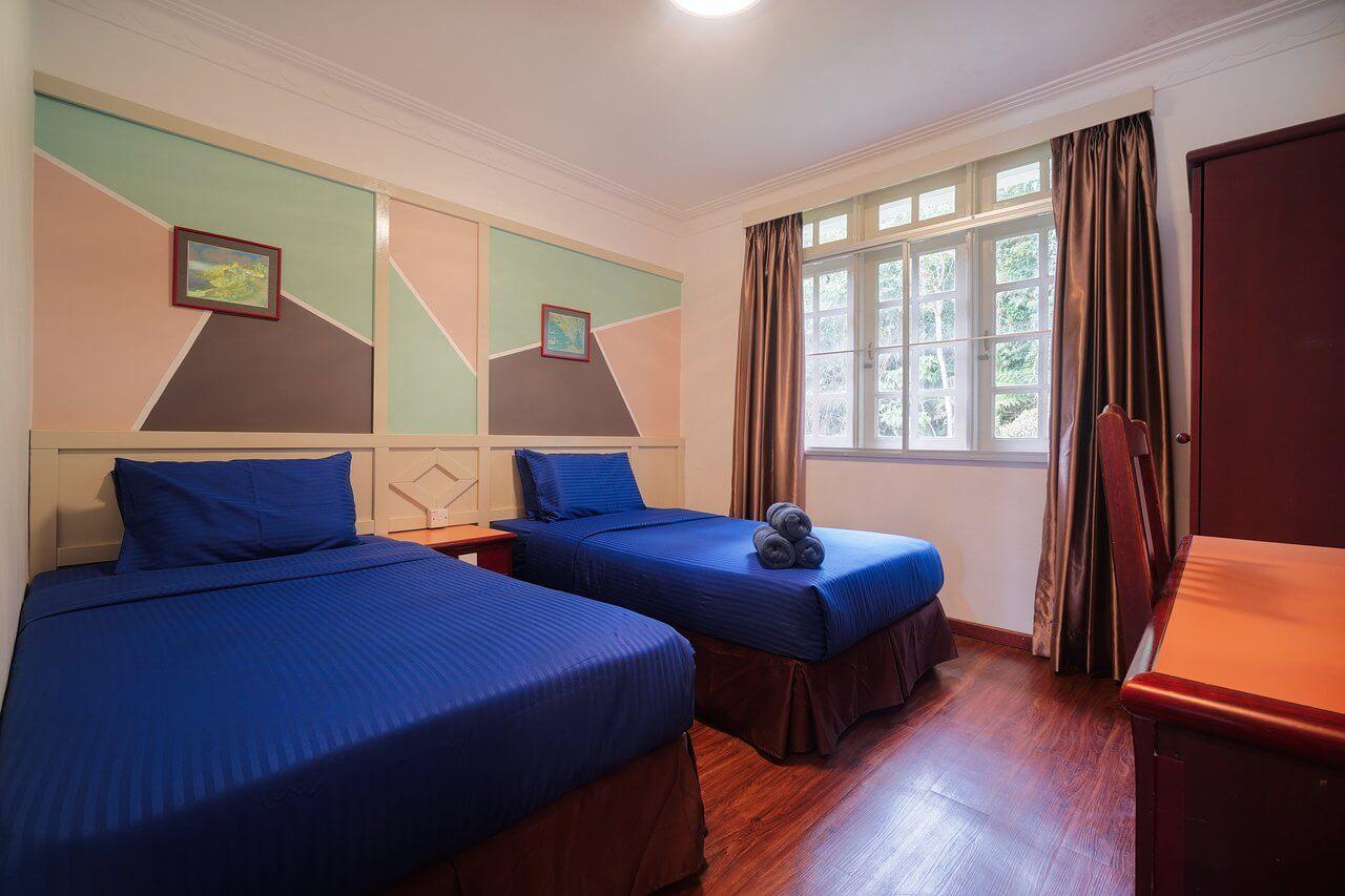 Phòng nghỉ ở Parklands hotel