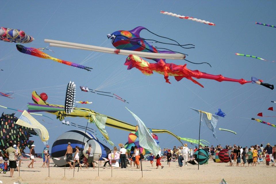 Lễ hội của gió ở bờ biển Bondi