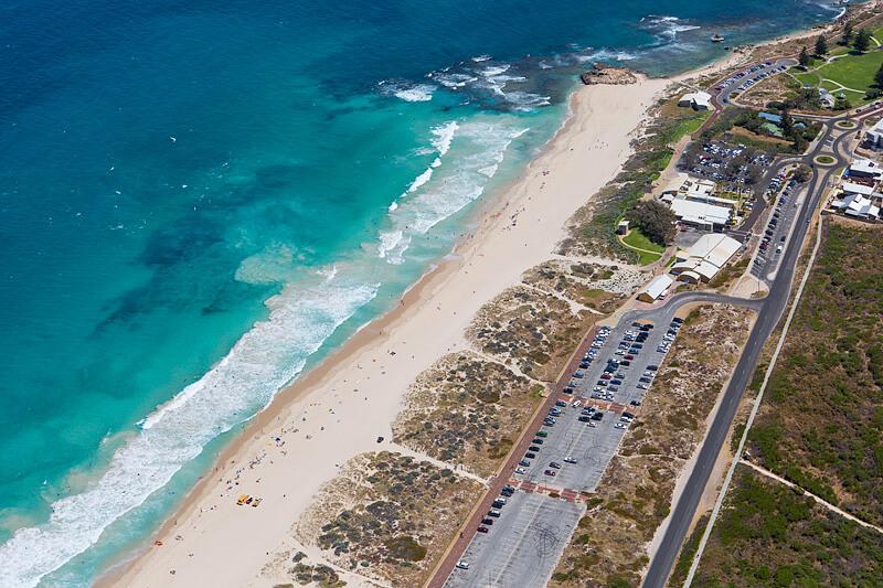 du lịch Perth Australia Bãi biển Trigg