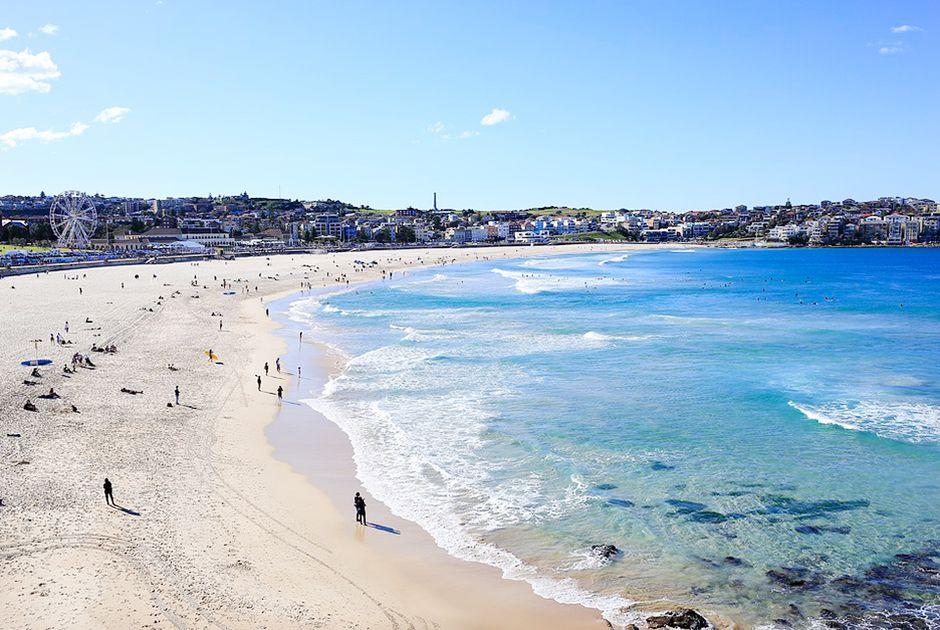 bãi biển Bondi Sydney