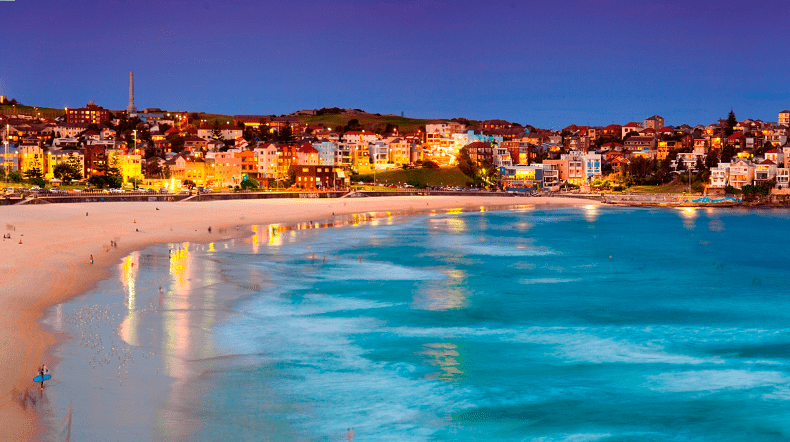 Bãi Biển Bondi New South Wales