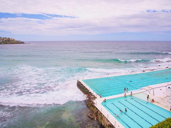 Hồ bơi giữa biển khiến du khách phát cuồng ở Sydney