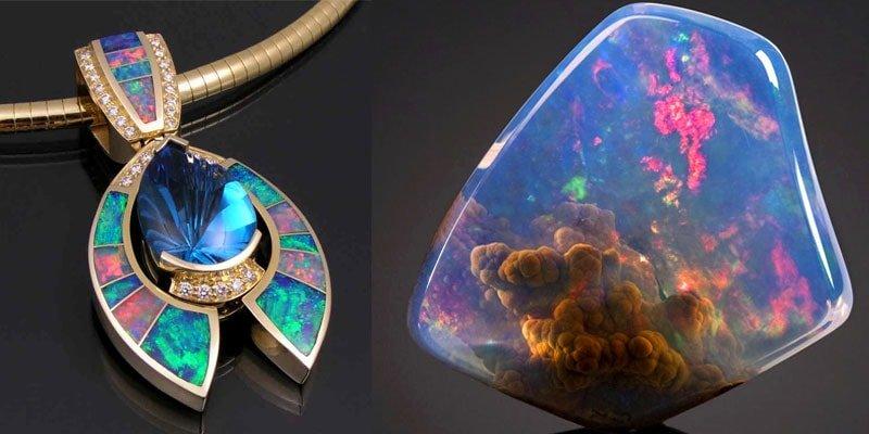 Trang sức từ Đá Opal