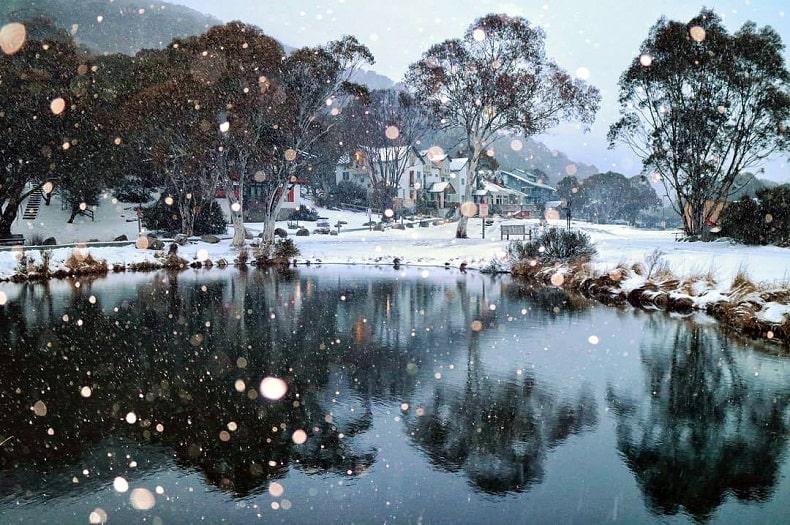 du lịch mùa đông ở úc
